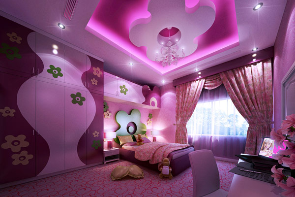 Creative girls bedroom decorating ideas