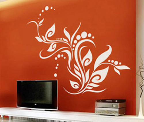 Creative Bedroom Paint Ideas Bright Colors And Wall Modern Decals
