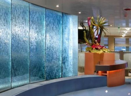 10 stylish indoor fountains to bring the outdoors inside - Waterfall designs for indoor ...