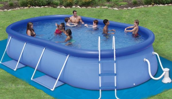 Six inflatable swimming pools to keep you cool | Home Improvement ...