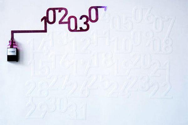 Ink Calendar
