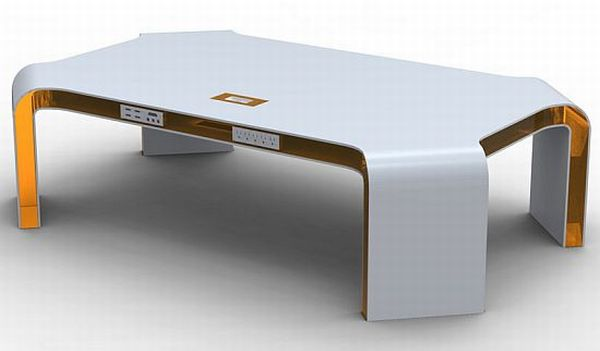 Integrated Technology Coffee Table concept