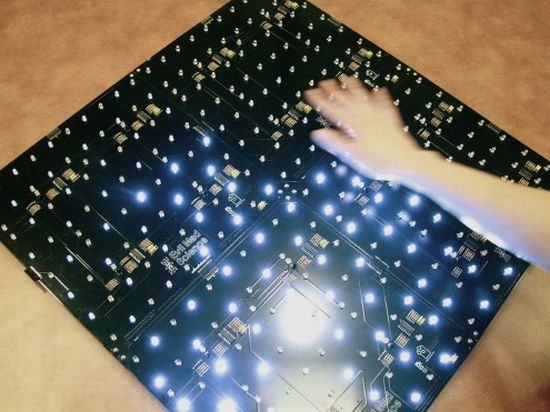 Make your own interactive led panel for coffee table it for Build your own coffee table kit