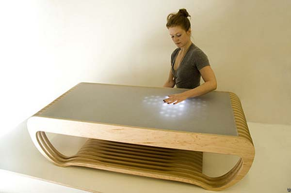 Interactive LED Coffee Table