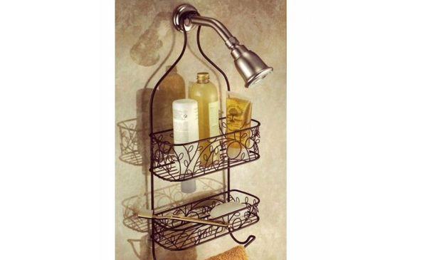 InterDesign Twigz Shower Caddy, Bronze