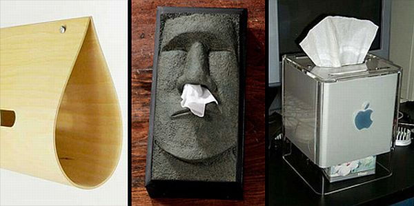 Interesting tissue boxes