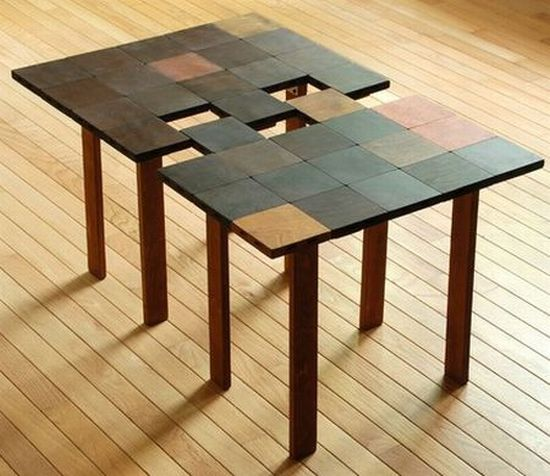 interlocking coffee table