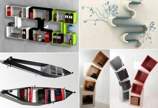 intersting shelves