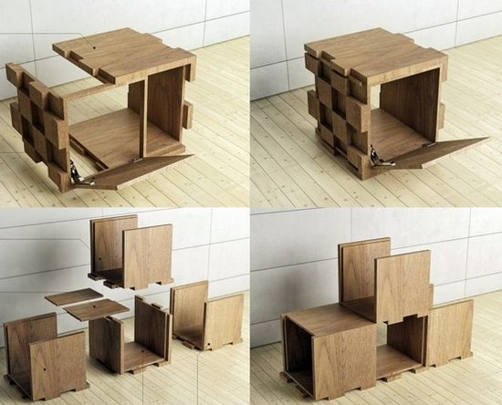 iqubic multifunctional furniture system 2