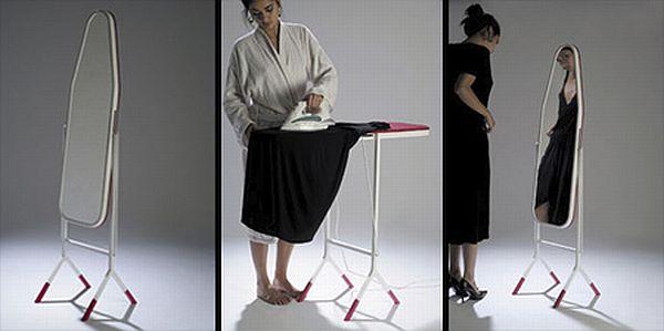 Ironing Board Mirror