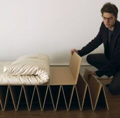 It Futon Bed Highly Portable Sleeping