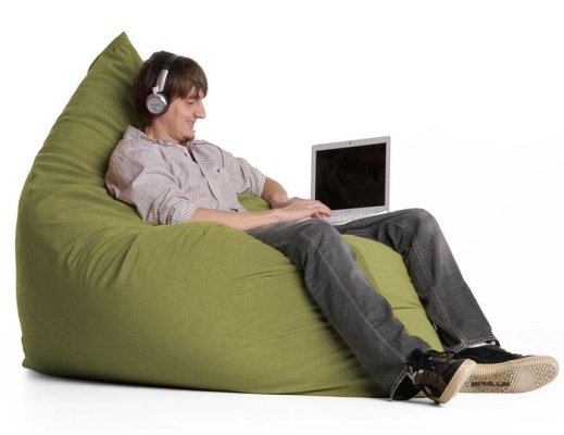 The Jaxx Pillow Sac Bean Bag Can Be Your Own Personal Throne It Also Converted Into A Cozy Seat For Two Flatten Out Belly Straddle To Play