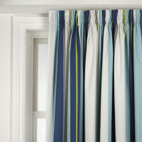 Blackout Curtains Striped - Rooms