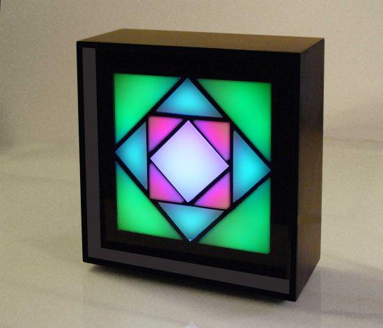 kaleidoscope a binary clock