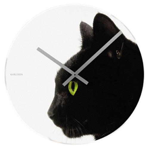 Magnificent large wall clocks hometone - Kitty cat clock ...