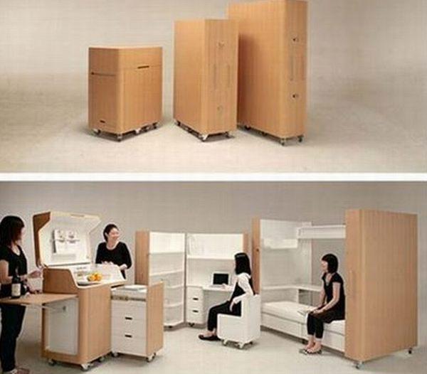 Kenchikukagu Apartment Set