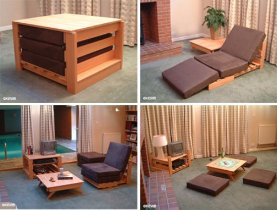 Kewb The Space Saving Multifunctional Furniture Hometone Home