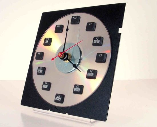 keyboard function key clock