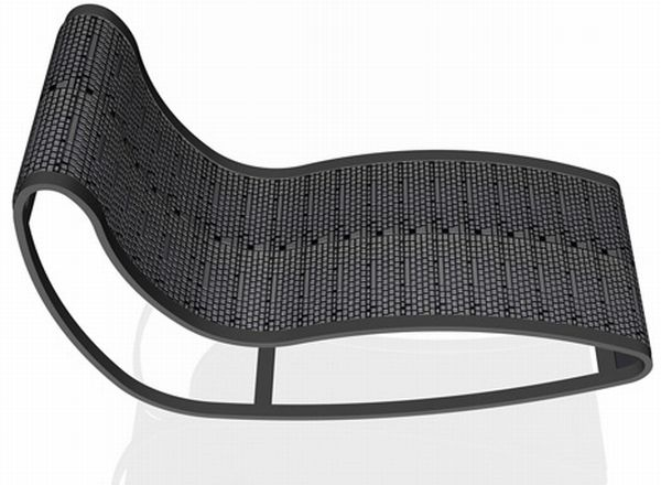 Keyboard lounge chair