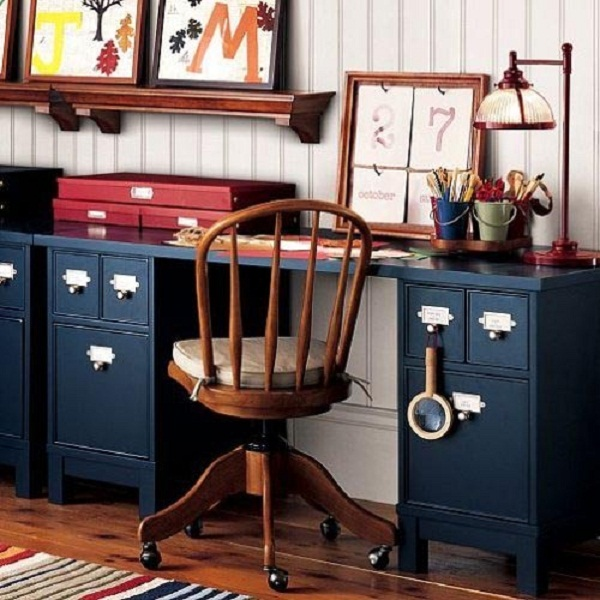 Kids Schoolhouse Storage Desk, Pottery Barn