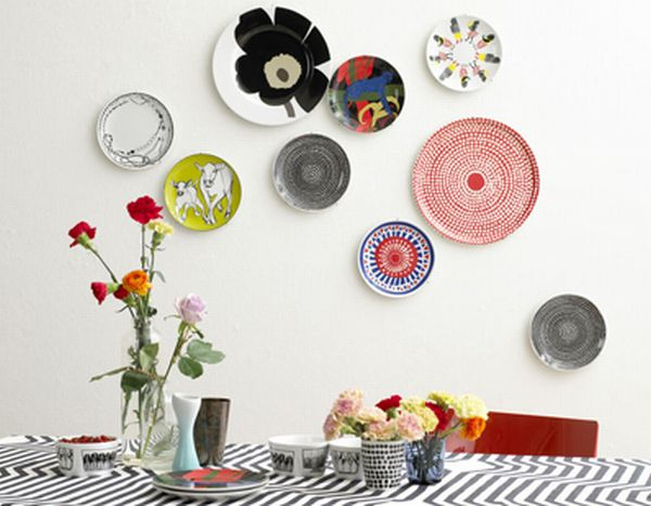 Green guide decorating your home with old kitchen plates home improvement guide by dr prem - Decorating with plates in kitchen ...