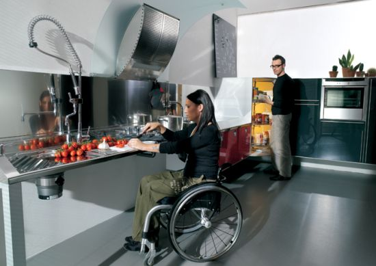 Tips To Design Kitchens For Disabled Women Hometone