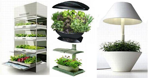 Eight indoor herb gardens to enliven your kitchen hometone for Kitchen herb garden