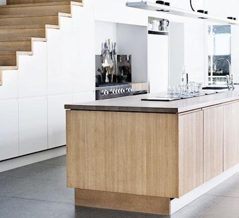 Kitchens Under the Stairs