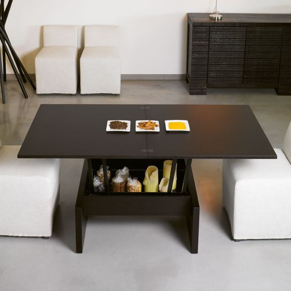 Amazing space saving coffee tables that convert into a dining table