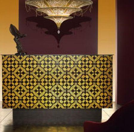 la diva gold tiles