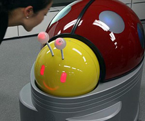 Ladybug the Robotic Bathroom Attendant