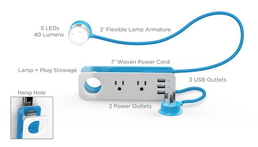 lamp power strip 41