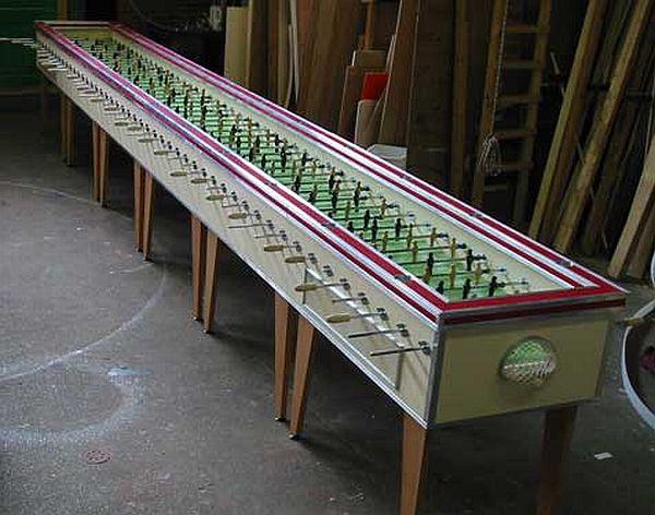 Largest Foosball Table