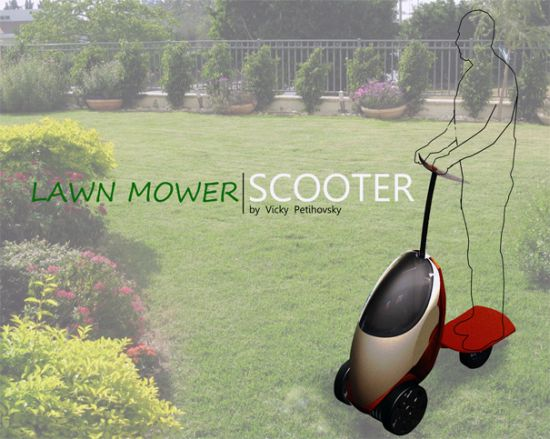 lawnmower scooter 1