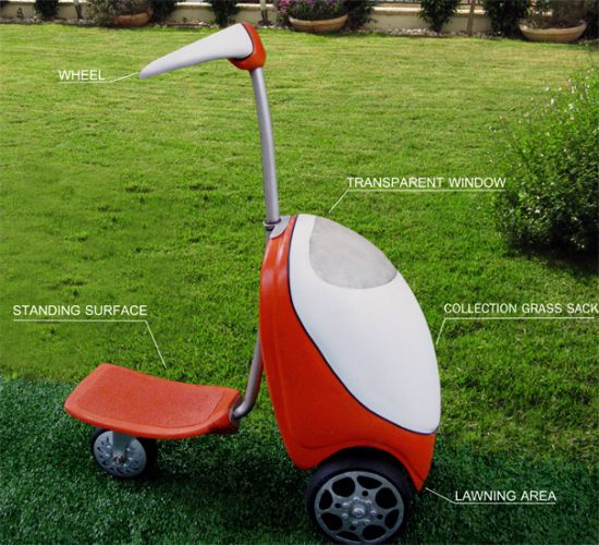 lawnmower scooter 2