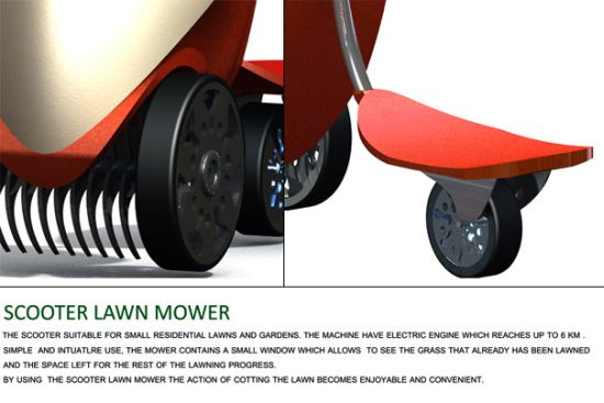 lawnmower scooter 3