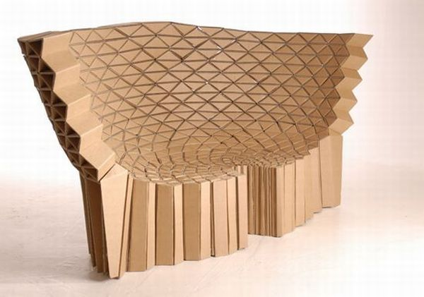 10 Cool Furniture And Home Furnishings Made Out Of Cardboard
