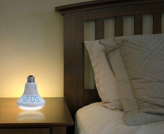 led bulb alarm clock