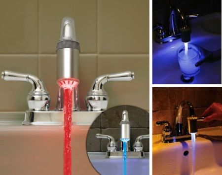 led faucet by thinkgeek