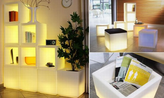 led modular bookcase0