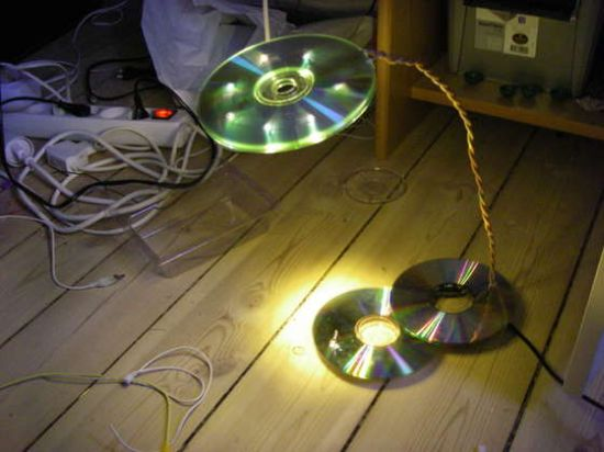 led usb cd lamp