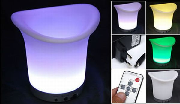 LED Colour Changing Ice Bucket
