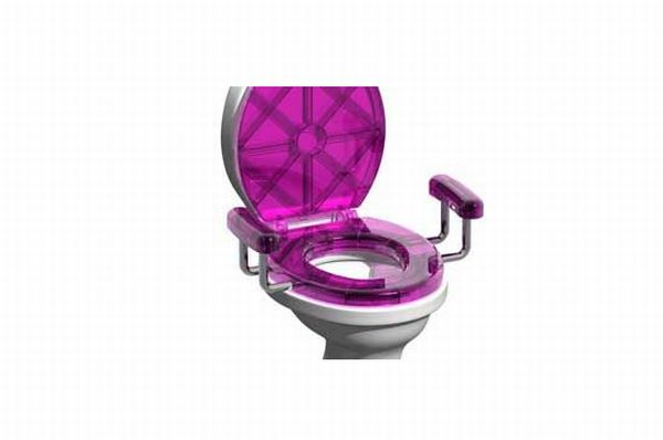 led toilet seat