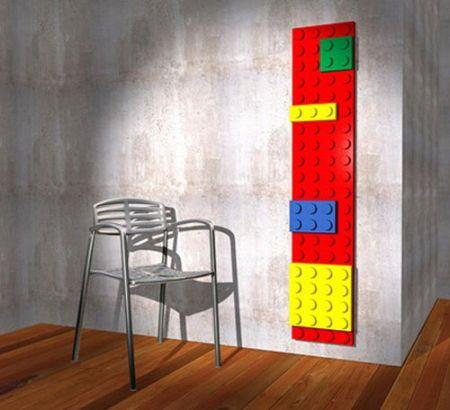 lego brick radiator