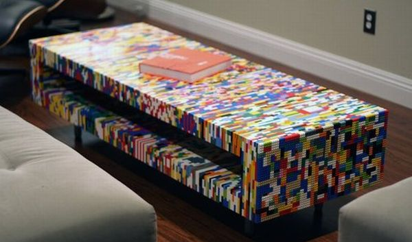 Eight Creative Lego Furniture Designs For Modern Spaces