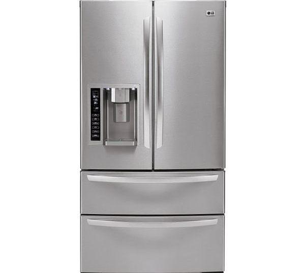LG LMX25984ST Four-Door French Door Refrigerator