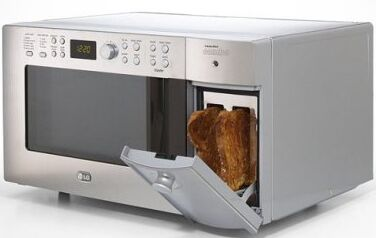Lg Has Come Up With An Intelligent Kitchen Liance That Takes Away The Hles Of Having Two Separate Units For Toaster And Microwave