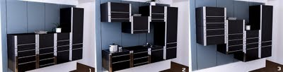 Lift- modular kitchen