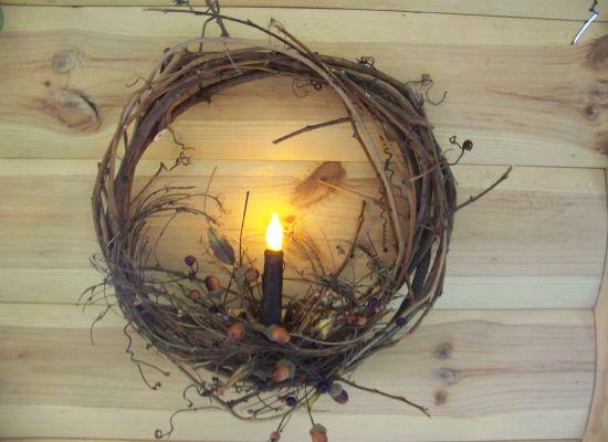 Grapevine Wreaths Simple Decor - Home Interior Design on Vine Decor Ideas  id=53644