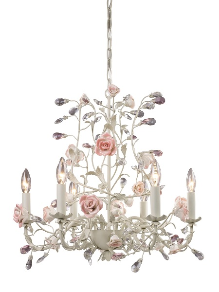 shabby chic chandeliers hometone. Black Bedroom Furniture Sets. Home Design Ideas